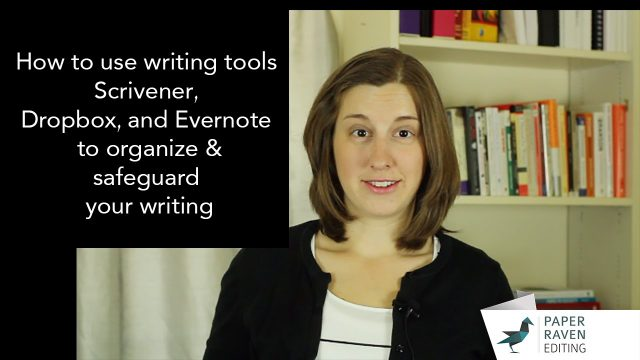 How to use writing tools Scrivener, Dropbox, and Evernote to organize and safeguard your writing