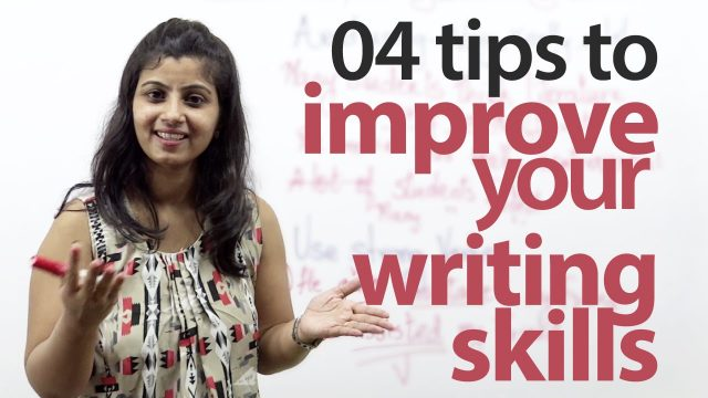 How to improve your English writing skills? – Free English lesson