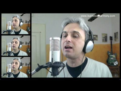 How To Sing Paperback Writer Beatles Vocal Harmony Lesson Tutorial