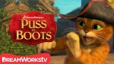 How To Defeat A Mummy | Epic Cat Battles With Puss In Boots