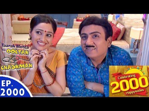 Taarak Mehta Ka Ooltah Chashmah – तारक मेहता – Episode 2000 – 11th August, 2016