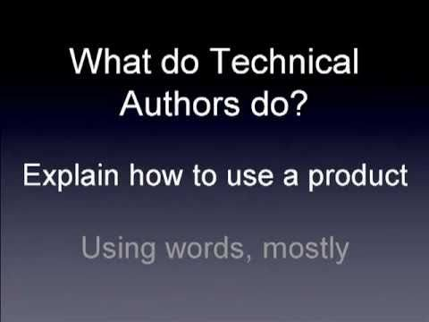 Technical Writing in 20 minutes – Part 1