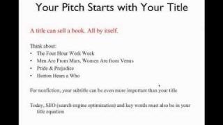 Create the Perfect Pitch for Your Novel | Writer's Digest Tutorials