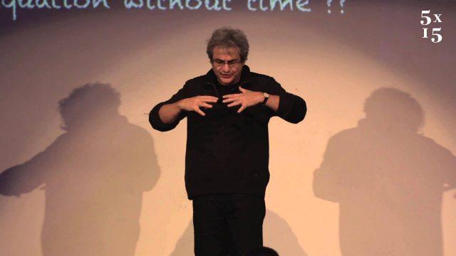 Carlo Rovelli @ 5×15 – Seven brief lessons on physics