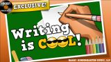 WRITING IS COOL!  (song for kids about the basics of writing)