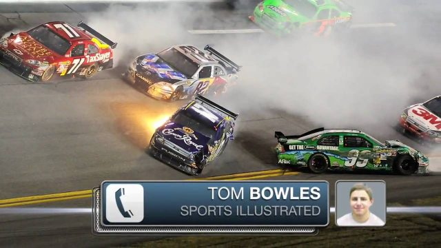 Inside Report: Crashes good for NASCAR?