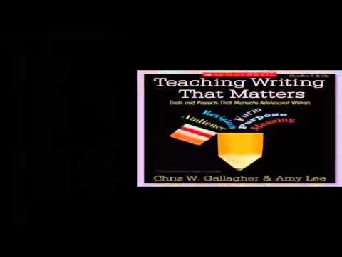 Download Teaching Writing That Matters  Tools and Projects That Motivate Adolescent Writers pdf