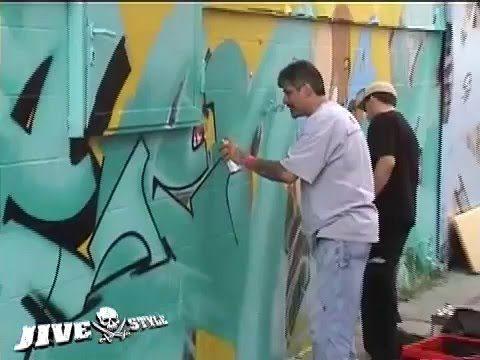 SEEN, CAN2, COPE2 & ZEBSTER – WALLSTREET GRAFFITI MEETING