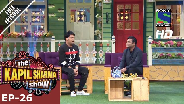 The Kapil Sharma Show – दी कपिल शर्मा शो–Ep-26-Music Maestro A.R Rahman –17th July 2016