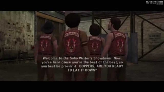 The Warriors  (PS2) – Mission #6 – Writer's Block