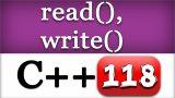 118   C++ Binary Files   Read, Write Methods   CPP Programming File Management Video Tutorials