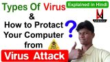 Types of Virus & how to protect your computer from viruses in Hindi