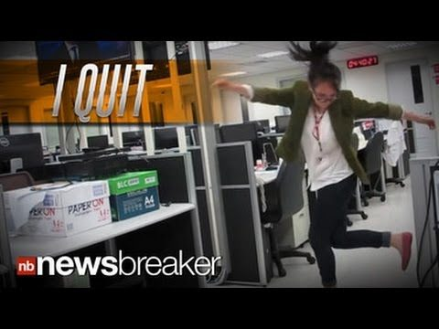 """I QUIT"": Writer Makes Epic Video to Kanye West Song Sticking it to Her Boss"