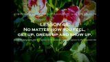 50 LESSONS LIFE TAUGHT ME written by Regina Brett