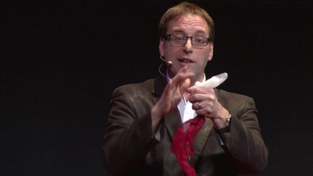 Discovering Astonishment. Lessons from a magician. | Steve Marshall | TEDxMacatawa