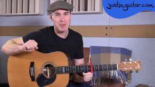 Chocolate Jesus – Tom Waits – Easy Beginner Song Guitar Lesson Tutorial (BS-222)