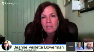 Breaking Into Hollywood:  Jeanne Bowerman: Lessons Learned 1