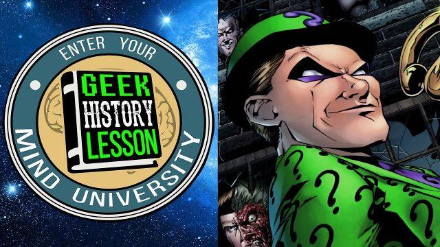 BATMAN Writer Tom King Discusses The Riddler – Geek History Lesson