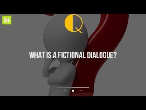 What Is A Fictional Dialogue?