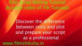 Professional Screenwriting Tutorials in Hindi