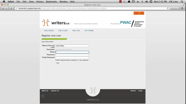 The services of writers.ca for subscribers