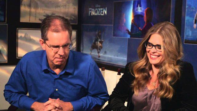 Frozen: Chris Buck – Director & Jennifer Lee – Director/Writer On Set Movie Interview