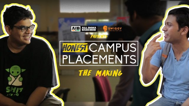 AIB : Honest Engineering Campus Placements | The Making