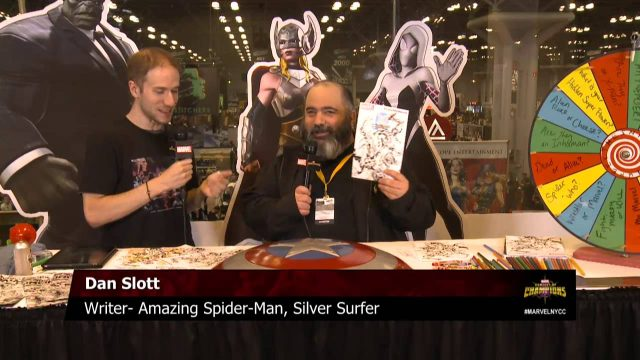 Writer Dan Slott Changes the Game for Silver Surfer