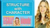 Screenplay structure with character arc and more