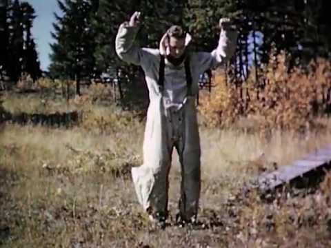 Smoke Jumper Training for Airborne Fire Fighting Film Two Part 2 of 2 (circa 1945-1949) USFS