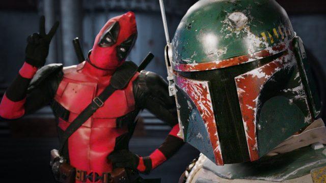 Deadpool vs Boba Fett.  Epic Rap Battles of History – Bonus Battle!