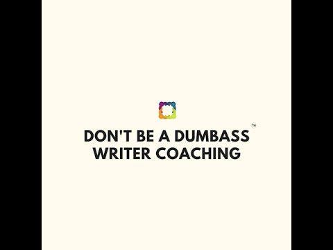 Writers, ffs Read! Don't Be A Dumbass Writer Tip 3