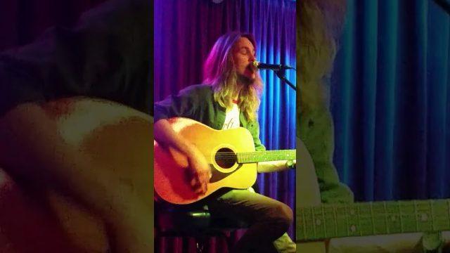 Ozarks Writers Night Joe Dillstrom sings Falling Down Springfield Missouri 6/21/2017