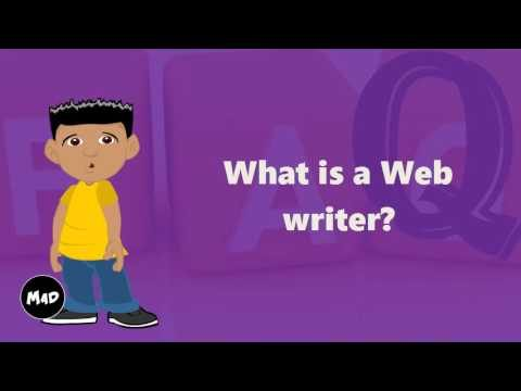 What Is A Web Writer?