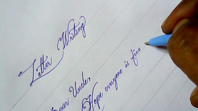 Letter writing with ball pen | Calligraphy | mazic writer