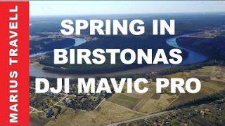 Birstonas Lithuania From The Sky