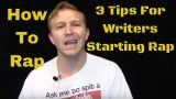 How To Rap: 3 Tips For Writers To Start Rapping Aloud