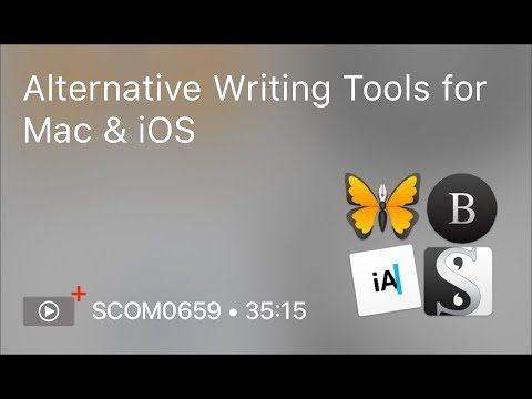 SCOM0659 – Alternative Writing Tools for Mac & iOS – Preview