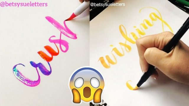 SATISFYING CALLIGRAPHY VIDEO COMPILATION ( The Best of Seb Lester & others )