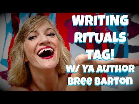 Writing Rituals Tag / Authortube / Speak Breely's Birthday!