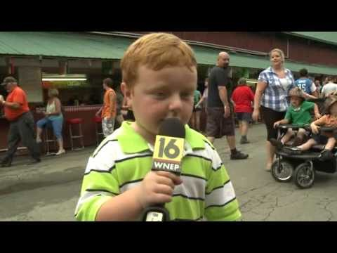 """Apparently"" This Kid is Awesome, Steals the Show During Interview"