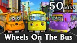 Wheels On The Bus Go Round And Round – 3D Animation Kids' Songs | Nursery Rhymes for Children
