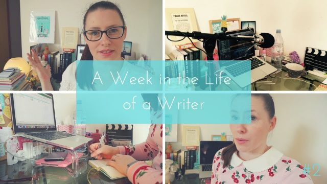 A Week in the Life of a Writer | Starting a Podcast + Writing A New Series