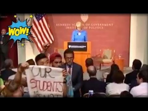 Breaking News Today – MOMENTS AFTER BETSY DEVOS STARTED SPEAKING AT HARVARD, LIBS SHOWED UP AND DID