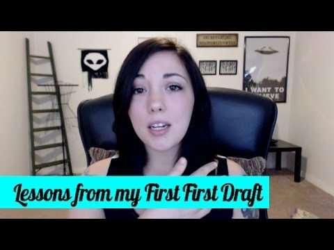 Lessons: My First First Draft