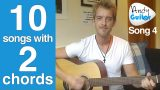 EASY 2 chord Song #3 | Three is a Magic Number (TEN guitar songs with two EASY chords)