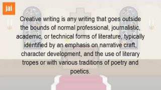 What Does It Mean To Be A Creative Writer?