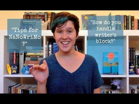 #ChatWithHannah Episode 4: NaNoWriMo Tips, Favorite Movies, and Overcoming Writer's Block