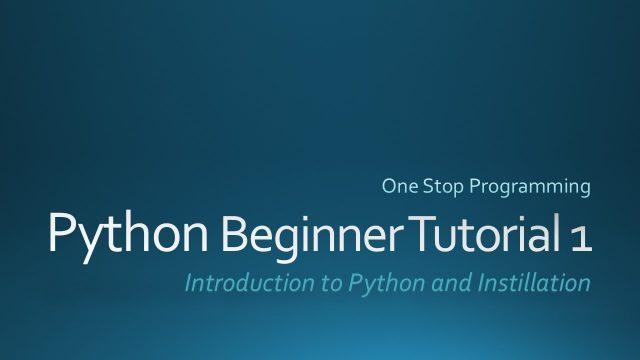 Python Beginner Tutorial 1 (For Absolute Beginners)