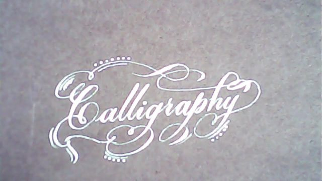 Calligraphy like print | Hand lettering | Mazic Writer